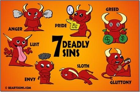 Image result for sins
